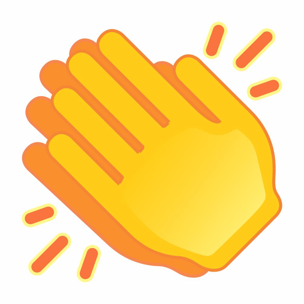 👏, Emoji de Palmas