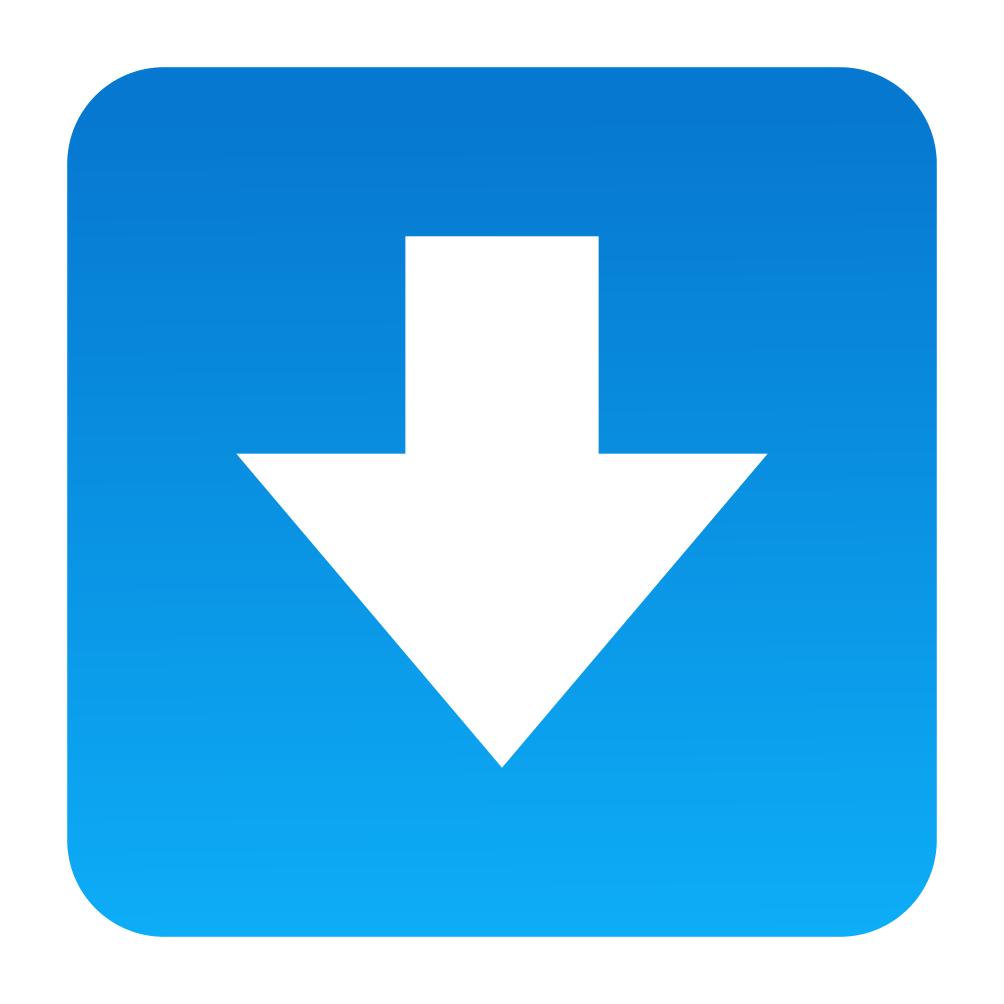 Emoji Seta Para Baixo