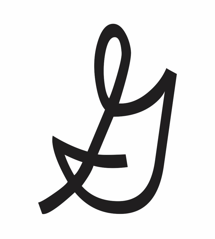 uppercase cursive g