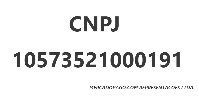 CNPJ 10573521000191