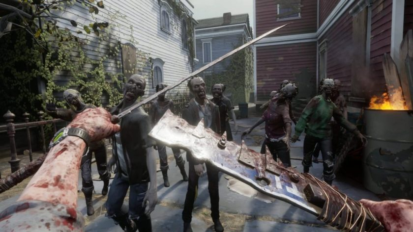 The Walking Dead: Saints & Sinners fyrir PlayStation 5.