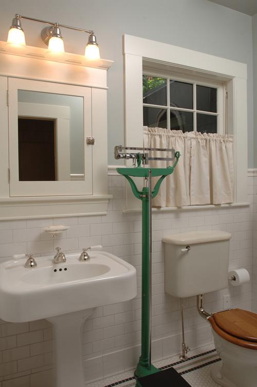 Bath with 1920s toilet  PSG Construction