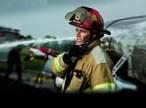 FirefighterwithTwoWayRadio