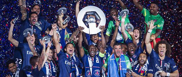 PSG Ligue 1 Champions