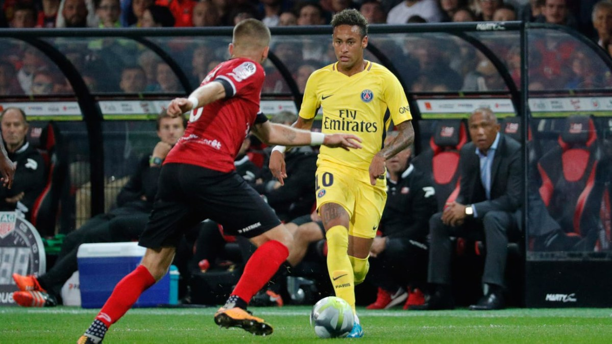 Player Ratings: PSG Overpower Guingamp in Neymar's Debut