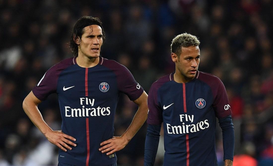 Cavani and Neymar