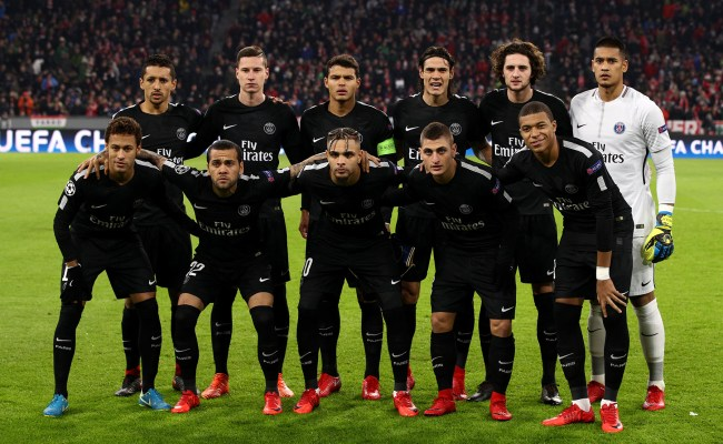 Predicting Psg S Starting Lineup And Formation For The
