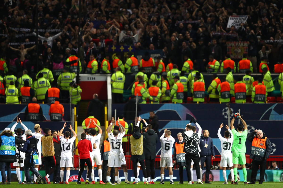 PSG Fans Celebrate Win Over Manchester United Around the World