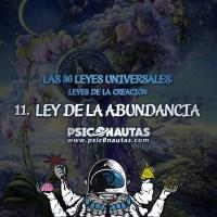 Las 36 Leyes Universales - 11. Ley de la abundancia.
