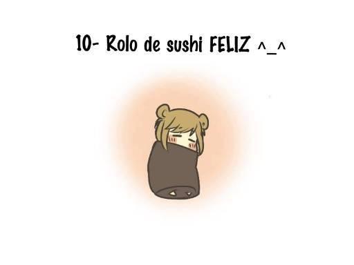 Rolo de sushi Feliz! ^_^