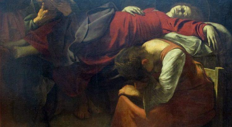 Caravaggio, morte della vergine, 1601-1606