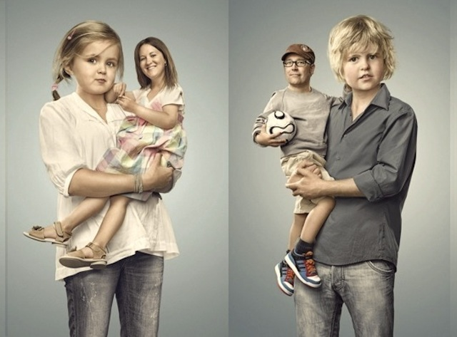 Inversão de papéis: pais e filhos