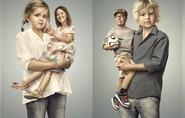 inversão de papéis, criança cuida do pai, criança cuida da mãe, filhos cuidando dos pais