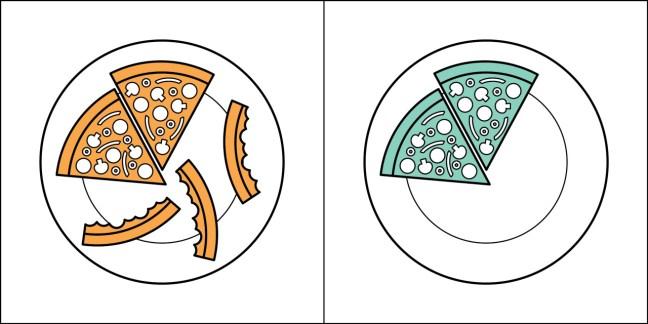 Pessoa do tipo 1: Jura que você come essa massa que está queimada da pizza? Pessoa do tipo 2: Traga mais pizza, por favor. (Ps: esse sou eu) ;-)