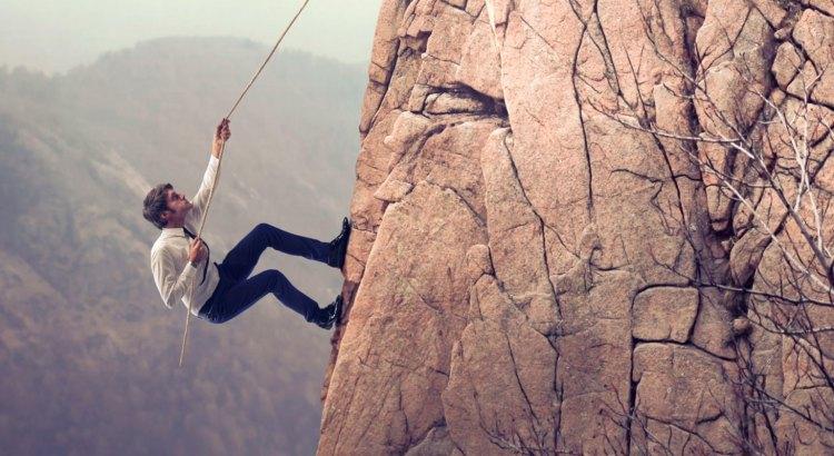 vontade, desejo, escalada, homem escalando, conquista