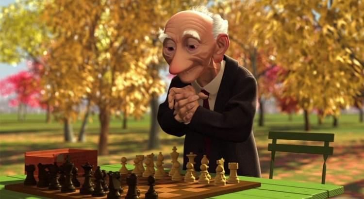 otimismo, curta a arte do otimismo, velho jogando xadrez