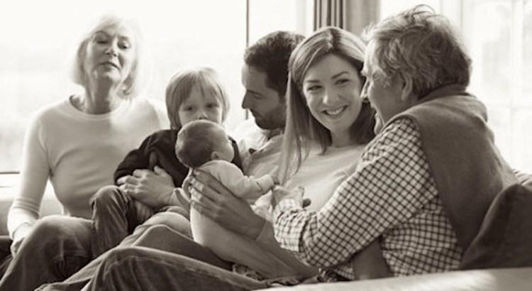 relação familiar, família, avós, família reunida