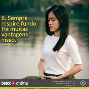 Psico.Online e Janeiro Branco Dicas para Cuidar da sua saúde mental e também da sua vida
