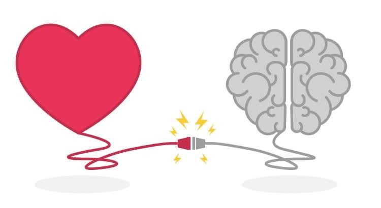 inteligência emocional, cérebro e coração juntos