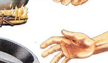 Exemplo de reflexo incondicionado: tirar a mão rápido da panela quente