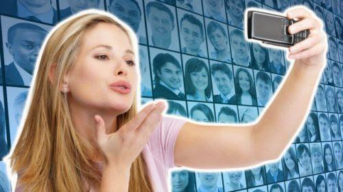 selfies e narcisismo no facebook