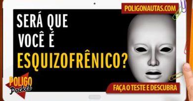 Teste de esquizofrenia online - máscara giratória