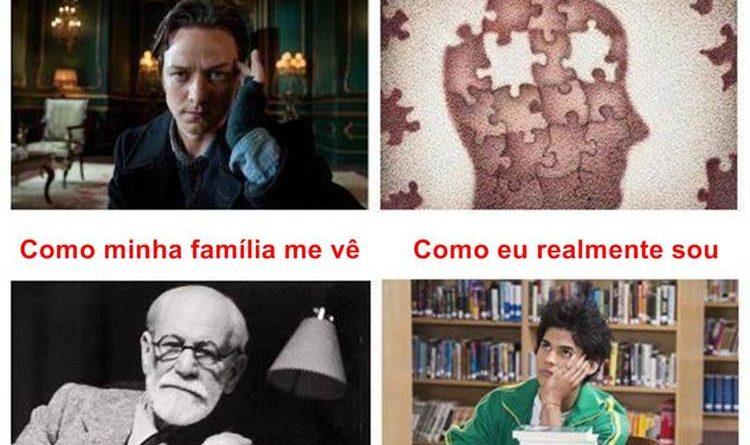 Estudante de Psicologia Como as pessoas me veem como eu me vejo como minha família me ve como eu realmente sou