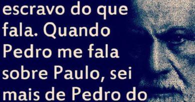 Freud Quando Pedro fala de Paulo