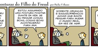 Freud, otimismo, crianças e esquizofrenia