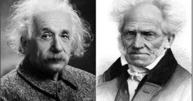 Einstein Schopenhauer