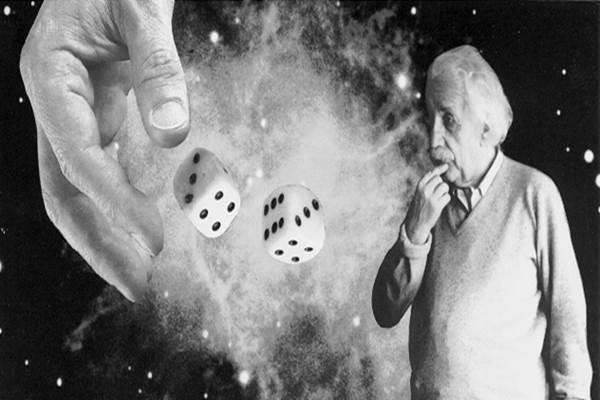 Einstein - Deus não joga dados com o universo