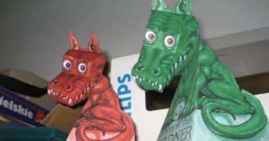 Ilusão do Dragão 3D para imprimir