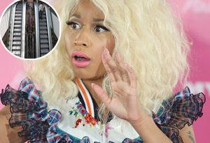 Nicki Minaj tem medo de escadas rolantes escalafobia