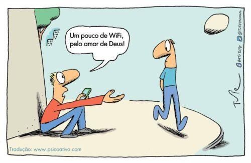 mendigo de wifi