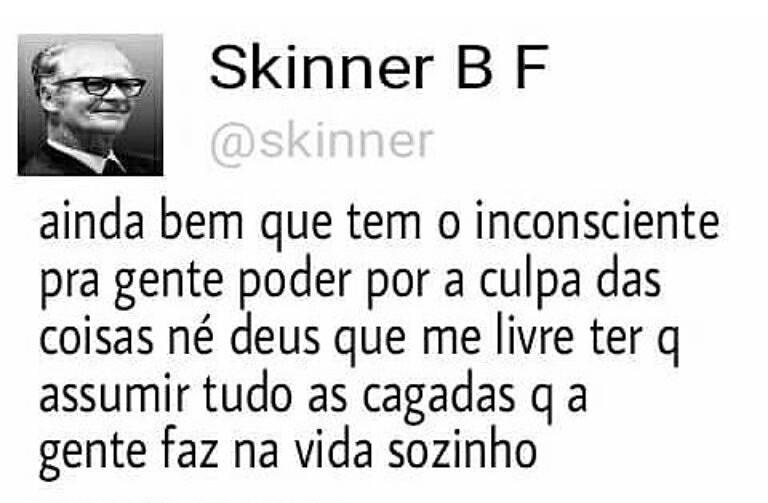 Skinner inconsciente