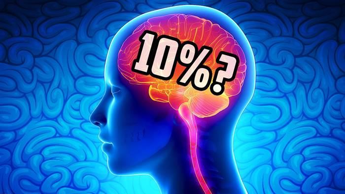 cerebro 10 porcento