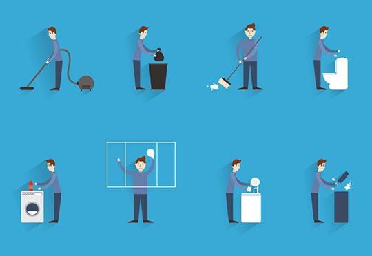 tarefas-diarias-limpar-lavar-arrumar