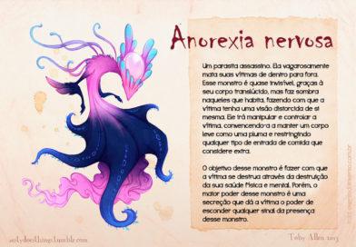 16 Transtornos Mentais ilustrados como Monstros