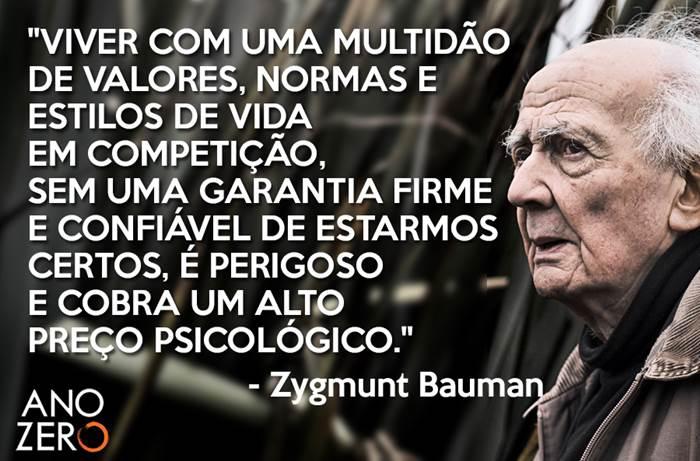 Zygmunt Bauman 16 Frases E Pensamentos Psicoativo O Universo