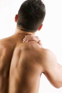 Contractura Muscular trapecio psicofisio madrid