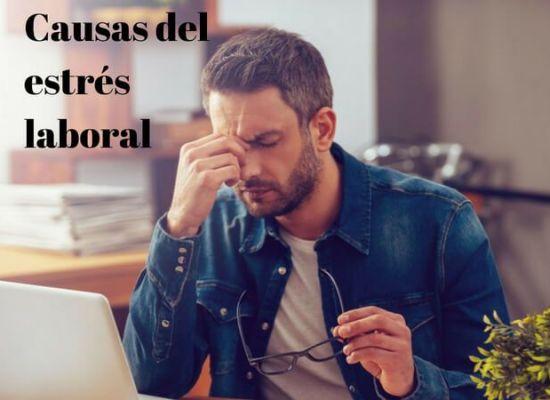 causas del estres laboral