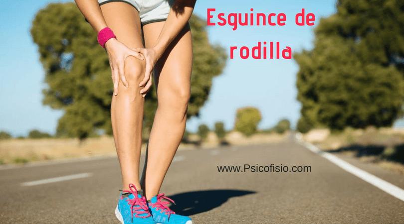 rehabilitacion distension ligamento interno rodilla