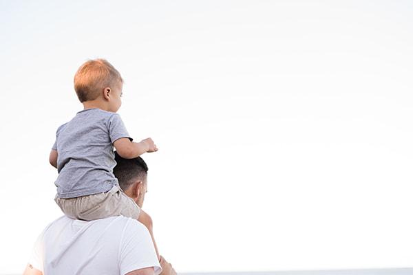 Pais com filhos dos partir dos 2-anos aos 12