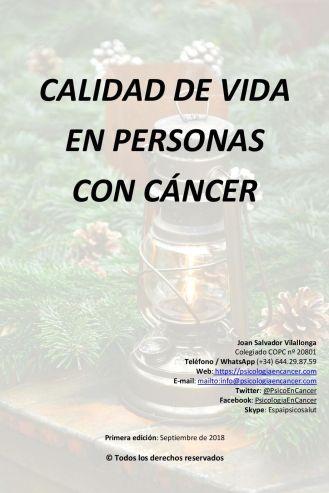 Guia de qualitat de vida en persones amb càncer
