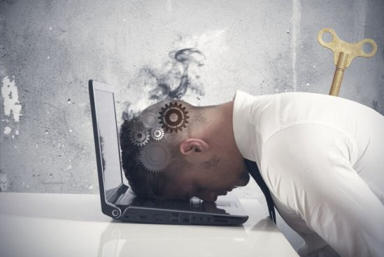 Síndrome del desgaste profesional