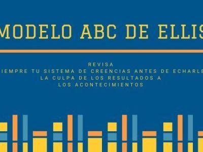 Modelo ABC de Ellis. Psicología Cognitiva
