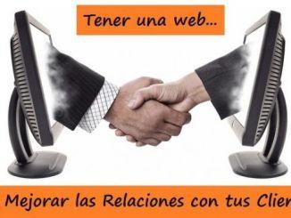 Web para Mejorar las Relaciones con los Clientes
