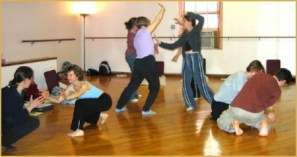 Dance movement therapy group
