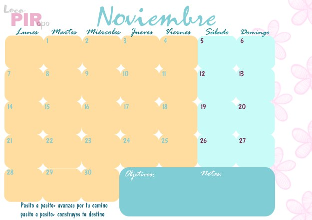 planning noviembre 2