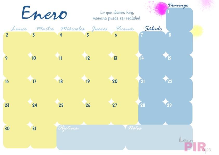 planning de enero